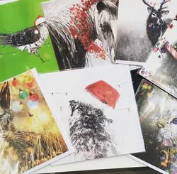 Sandra Binney Christmas Cards