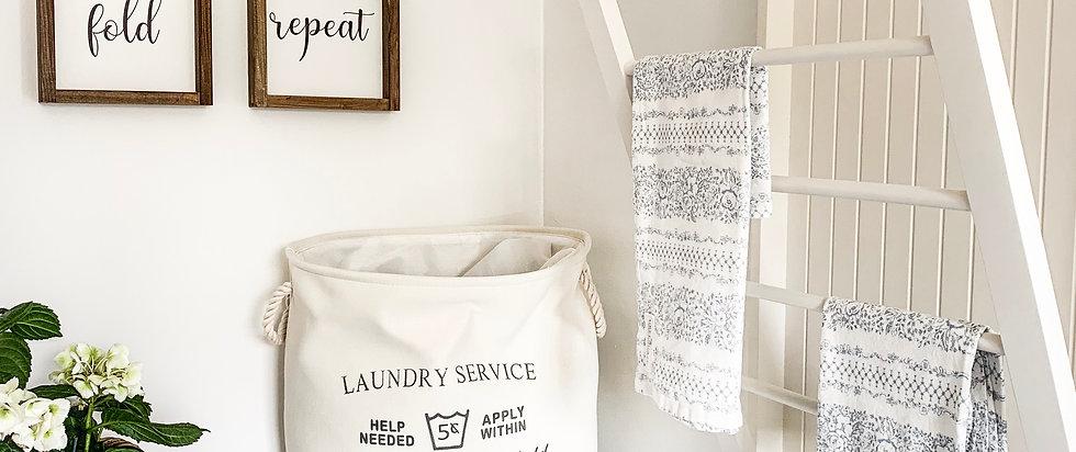 Handtuchhalter im Farmhaus-Stil
