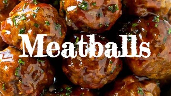 """Meatballs """"fasch-fertig"""""""