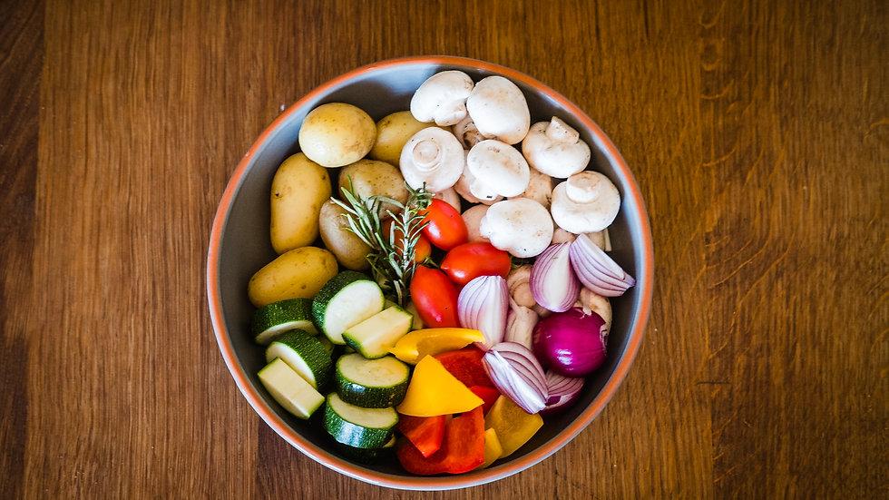 Gemüsemix (Spiessligrill)