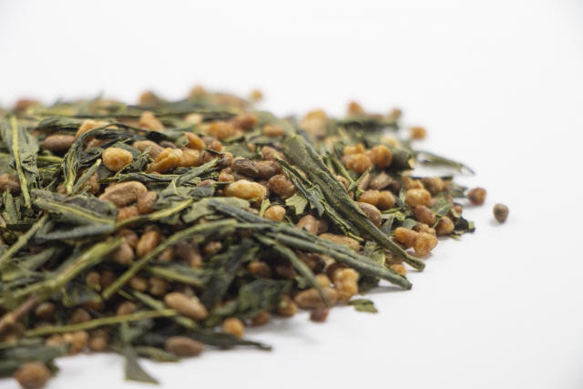Genmaicha Loose Leaf - Green Tea with Roasted Brown Rice