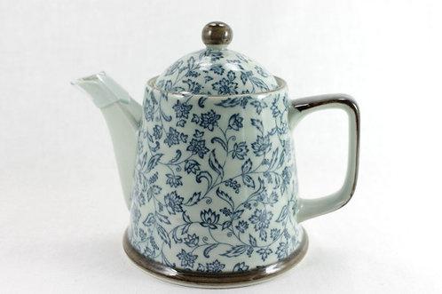 Kikyo Flower Teapot - Arita-ware