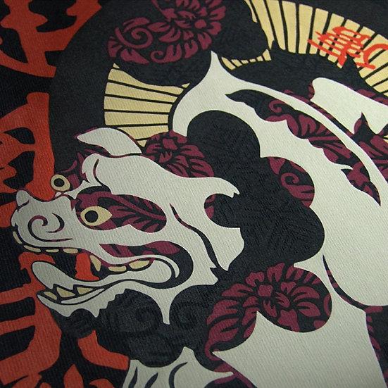 Japanese Art T-shirts - RINPA-KARAJISHI
