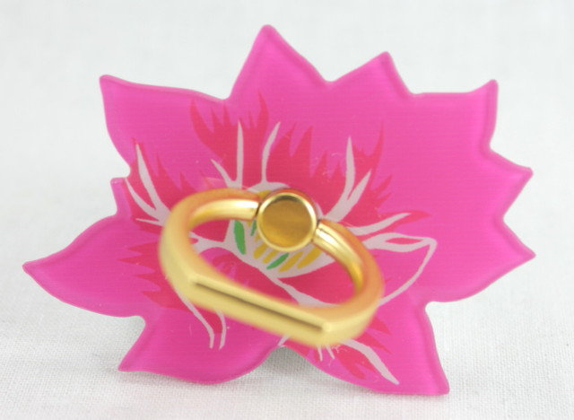 Smartphone Ring - Lotus Flower Pink