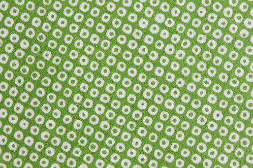Hand-Dyed Yuzen Washi Paper - 005 Green
