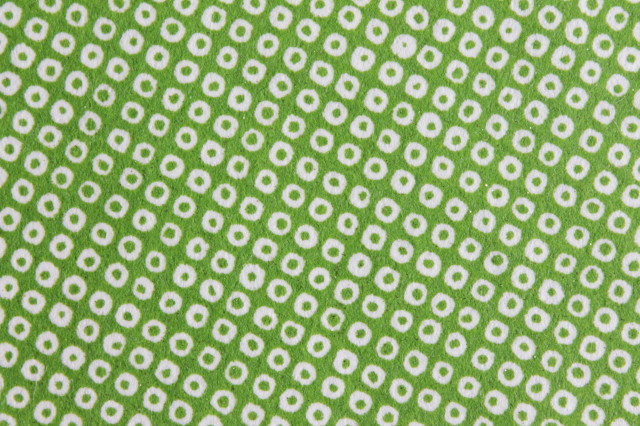 Hand-Dyed Yuzen Washi Paper - 005 Green