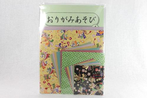 Japanese Yuzen Washi Origami Paper Pack 4