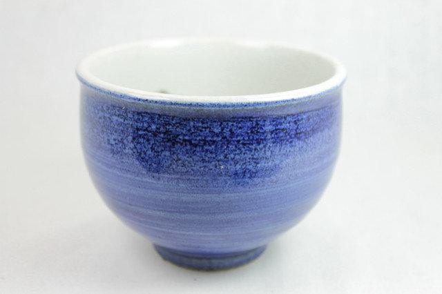 Owl, Blue Matcha bowl - Arita-ware