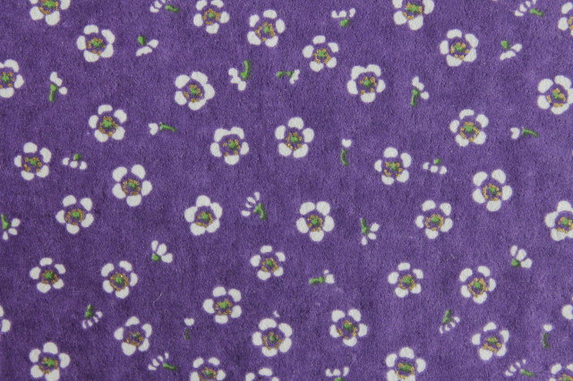 Hand-Dyed Yuzen Washi Paper - 038 Purple