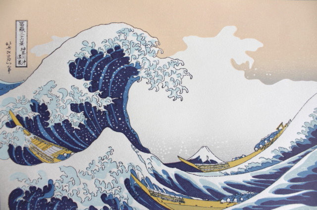 Under the Wave off Kanagawa S