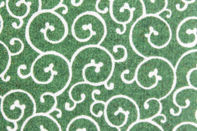 Hand-Dyed Yuzen Washi Paper - 016 Green