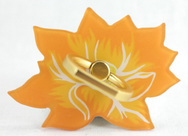 Smartphone Ring - Lotus Flower Orange