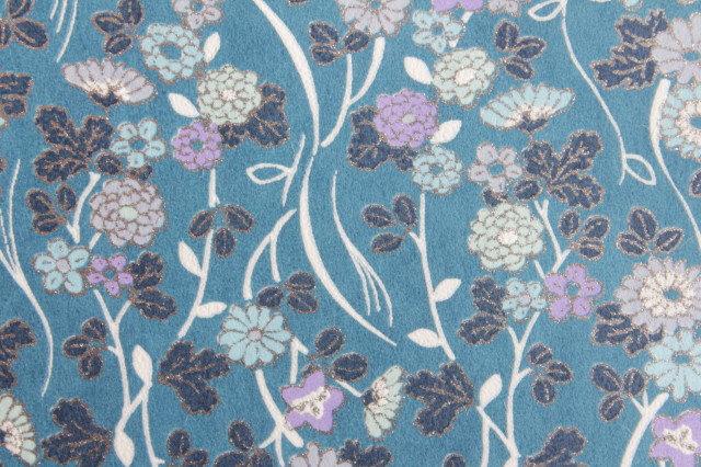 Hand-Dyed Yuzen Washi Paper - 029 Blue