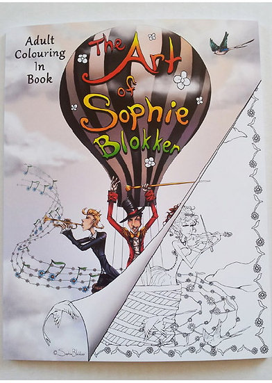 Adult  Colouring Book – The  Art of Sophie Blokker
