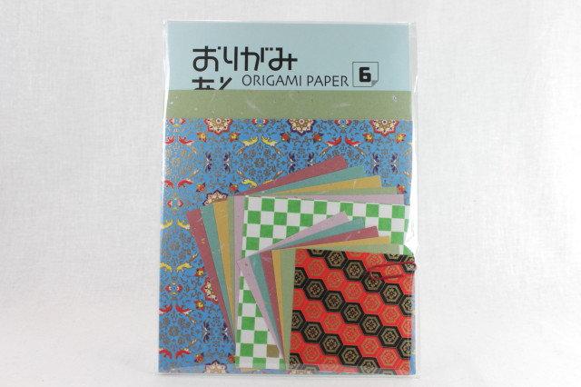 Japanese Yuzen Washi Origami Paper Pack 6
