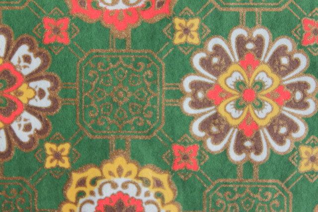 Hand-Dyed Yuzen Washi Paper - 049 Green