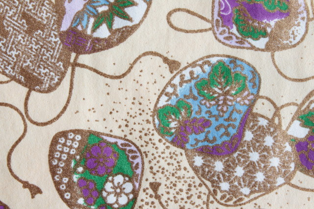 Hand-Dyed Yuzen Washi Paper - 032 Cream
