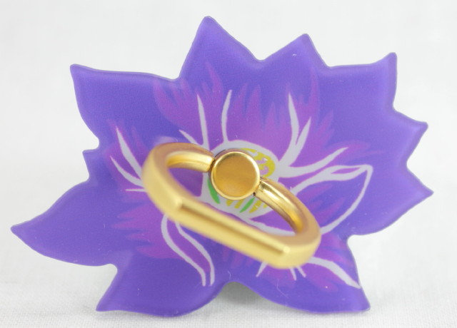 Smartphone Ring - Lotus Flower Purple