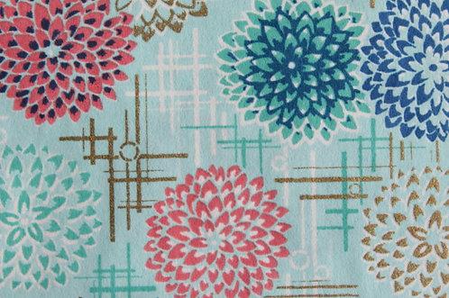 Hand-Dyed Yuzen Washi Paper - 057 Light-Blue