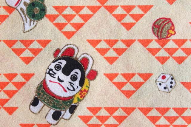Hand-Dyed Yuzen Washi Paper - 018 Orange