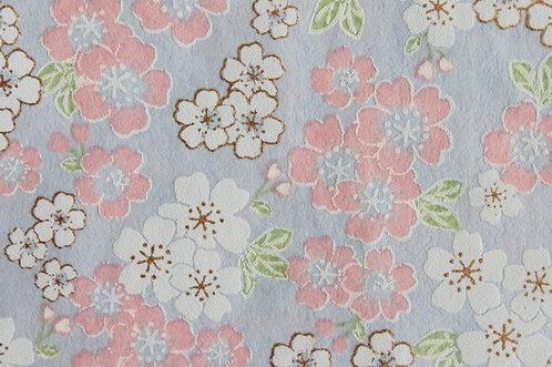 Hand-Dyed Yuzen Washi Paper - 050 Purple