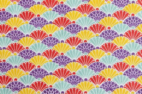 Hand-Dyed Yuzen Washi Paper - 040 Purple