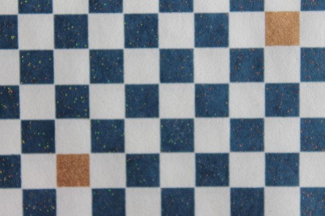 Hand-Dyed Yuzen Washi Paper - 056 Blue