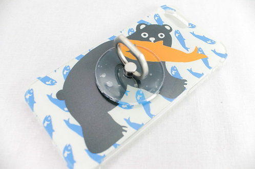 iPhone 7/8 Case with Ring - Bear