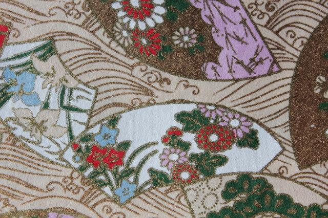 Hand-Dyed Yuzen Washi Paper - 026 Gold