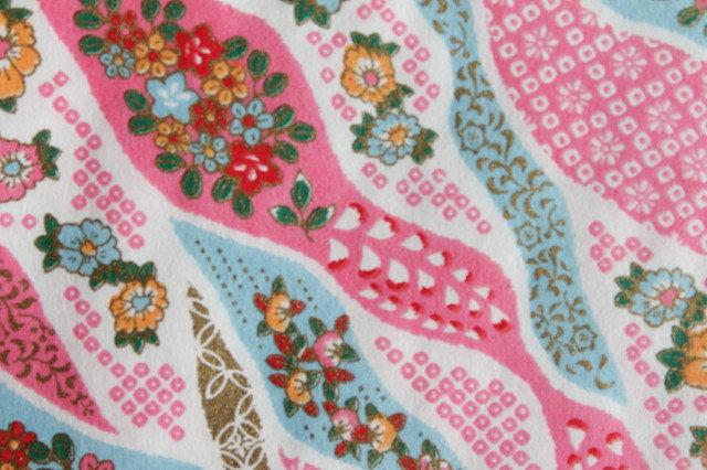 Hand-Dyed Yuzen Washi Paper - 031 Pink