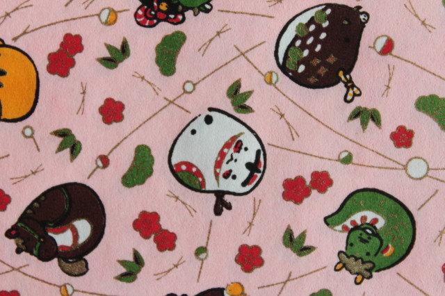 Hand-Dyed Yuzen Washi Paper - 033 Pink
