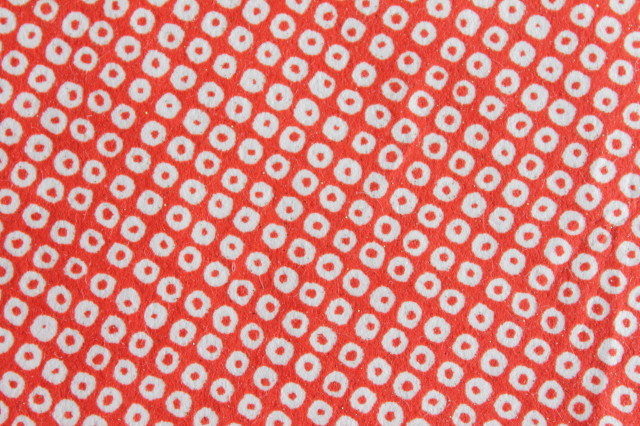 Hand-Dyed Yuzen Washi Paper - 005 Red