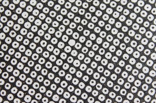 Hand-Dyed Yuzen Washi Paper - 005 Black