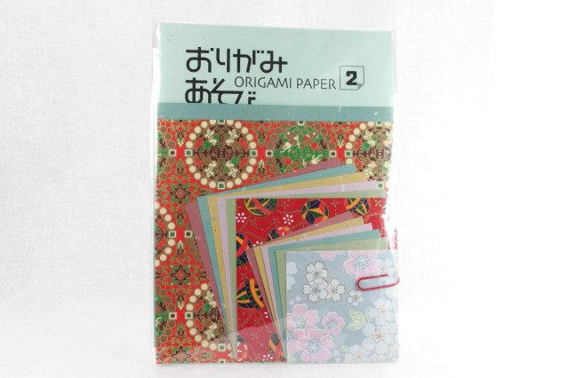 Japanese Yuzen Washi Origami Paper Pack 2