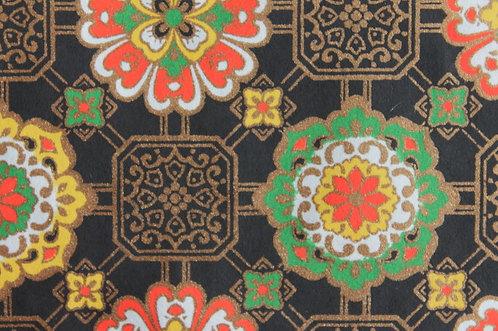 Hand-Dyed Yuzen Washi Paper - 049 Black