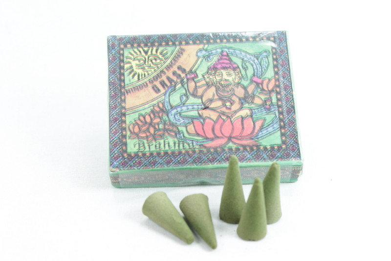 Hindu Gods Incense Cone - Grass