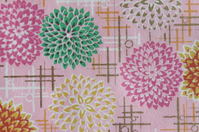 Hand-Dyed Yuzen Washi Paper - 057 Pink