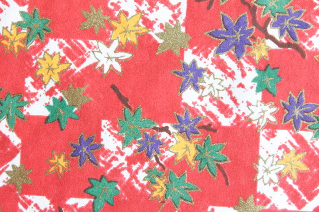 Hand-Dyed Yuzen Washi Paper - 015 Red
