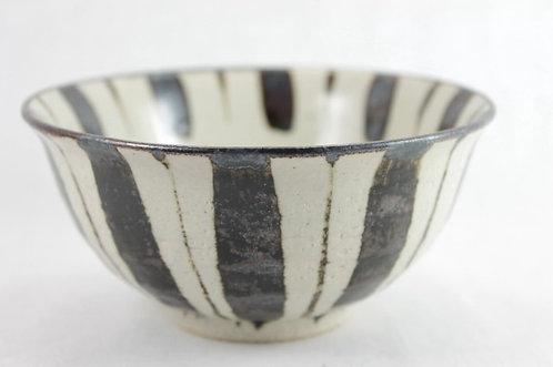 Tokusa-pattern Matcha bowl - Iga-ware