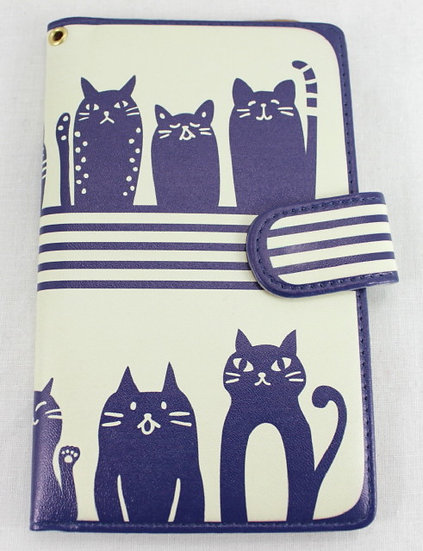 Wallet Mobile Phone Case Cover - Cats