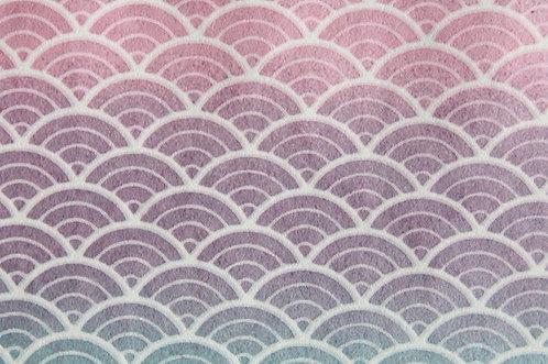 Hand-Dyed Yuzen Washi Paper - 013 Purple