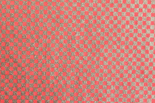 Hand-Dyed Yuzen Washi Paper - 041 Red