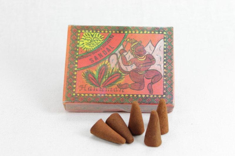 Hindu Gods Incense Cone - Sandalwood