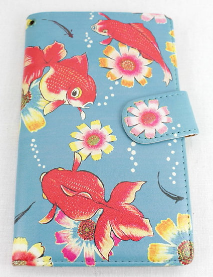 Wallet Mobile Phone Case Cover - Goldfish