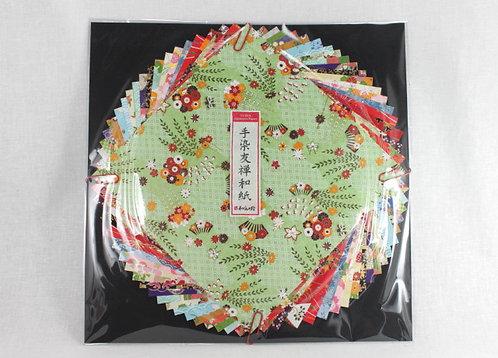 Japanese Yuzen Washi Origami Paper Pack - 19cm x 19cm