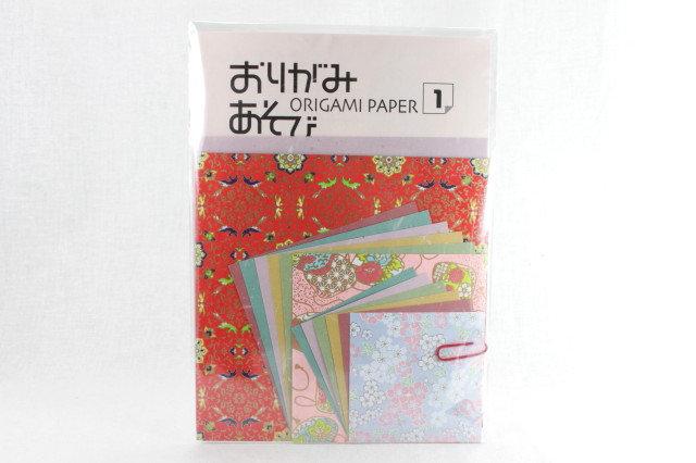 Japanese Yuzen Washi Origami Paper Pack 1
