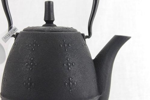 "Teapot ""RICE"" Black - Cast Iron"