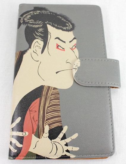 Wallet Mobile Phone Case Cover - Sharaku