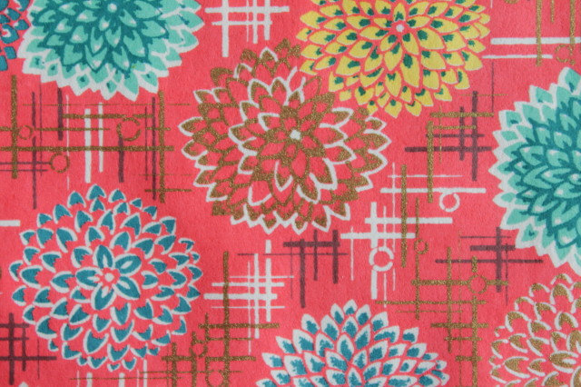 Hand-Dyed Yuzen Washi Paper - 057 Red
