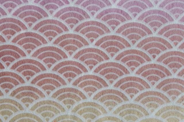 Hand-Dyed Yuzen Washi Paper - 013 Pink